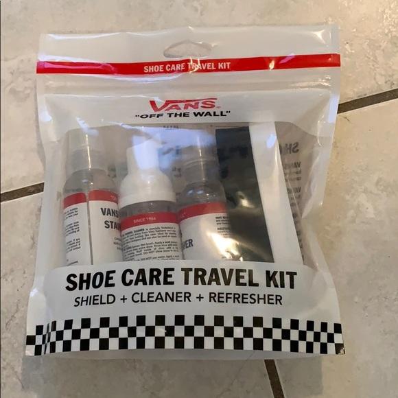 Vans shoe care travel kit NWT